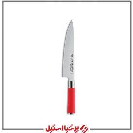 چاقو دسته قرمز