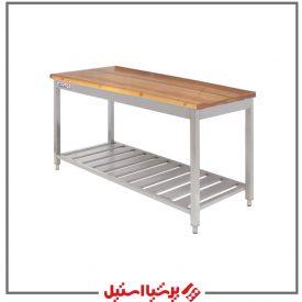 میز کار با صفحه چوب